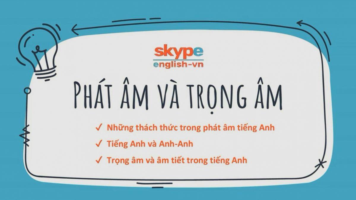 Phát âm ngôn ngữ tiếng Anh